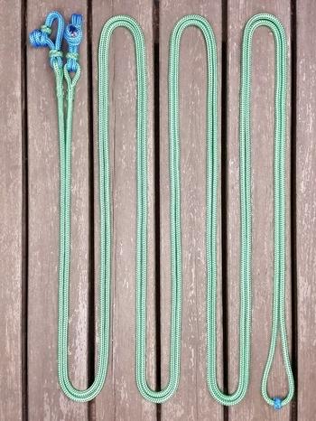 Hela tömmar med repfästen - 6 mm