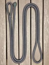 Ledrep med ögla och ändknop - 14 mm