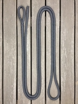 Ledrep med ögla och ändsplits - 14 mm