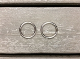 25 mm metallringar