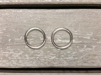 25 mm metal rings